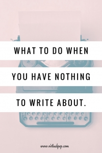 Content writing ideas for blogging.