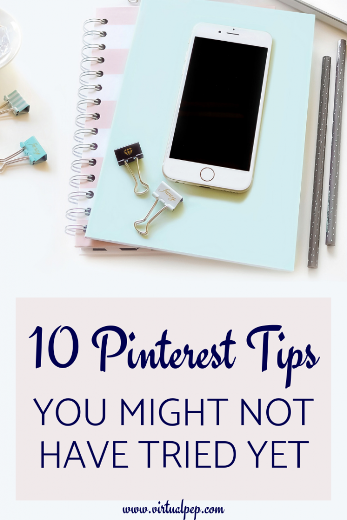 10 Pinterest tips and tricks you might not have tried yet.